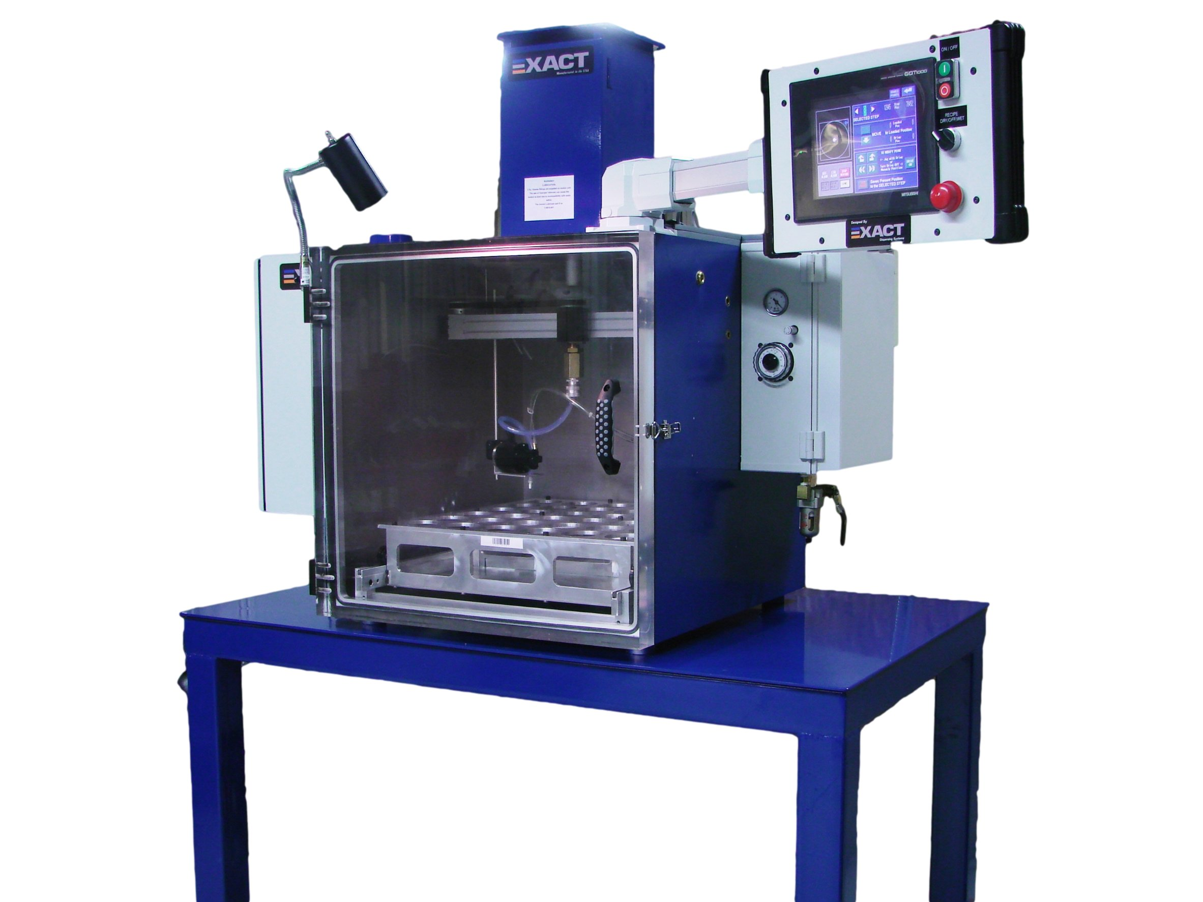 Vacuum Chambers and Dispensing Systems for Vacuum Encapsulation | EXACT Dispensing Systems