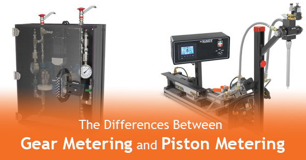 Gear Metering Vs. Piston Metering: Dispensing Systems Explained