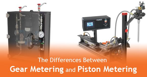 Gear Metering Vs. Piston Metering: Dispensing Systems Explained