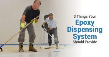 dispensing epoxy