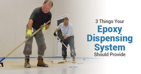 dispensing epoxy